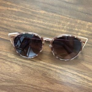 Urban Outfitters Brown Large Sunglasses